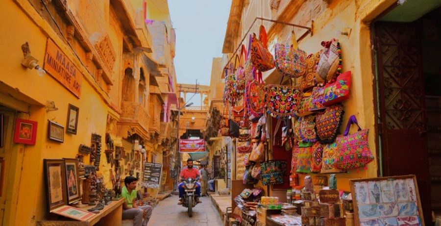 Jaisalmer Local Bazaar
