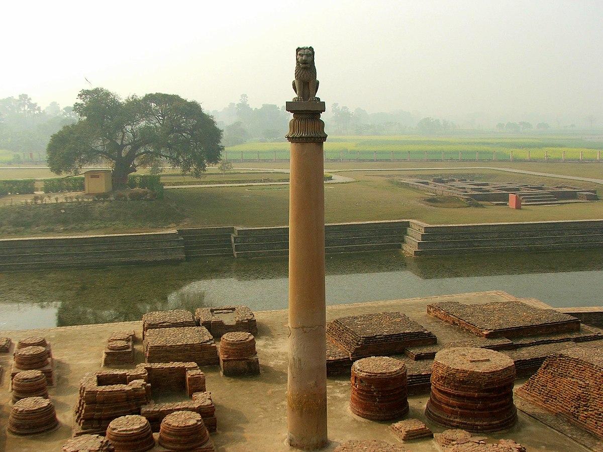 Lion Pillars at Vaishali