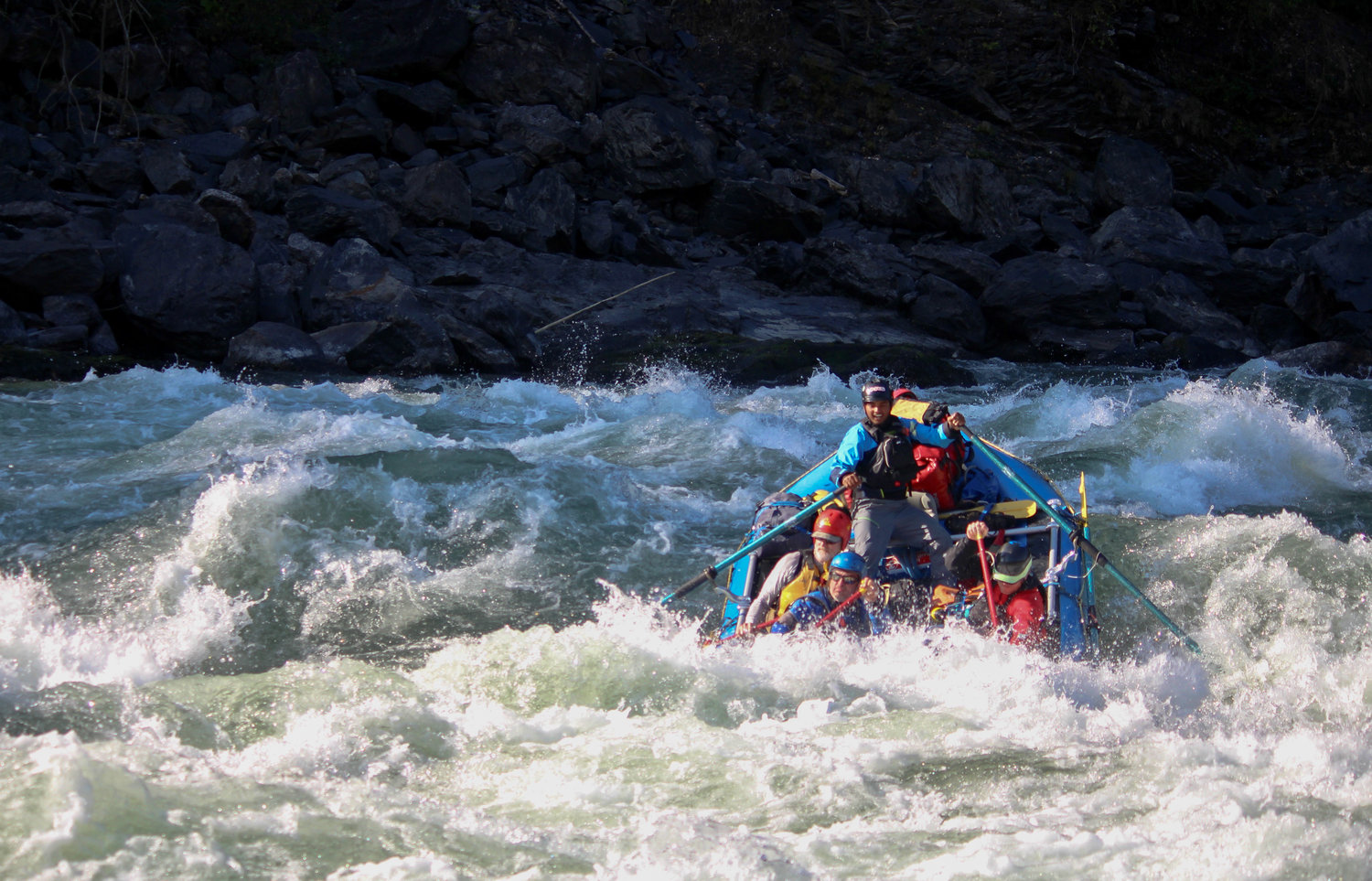 Rafting at Kameng River
